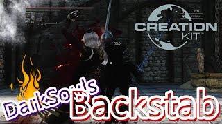 Skyrim - Darksouls Backstab MOD
