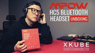 MPOW HC5 Wireless Bluetooth Headset Unboxing Review vs LOGITECH H800 Wireless Headset | Part 1