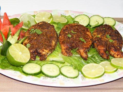 Fried Fish Steaks