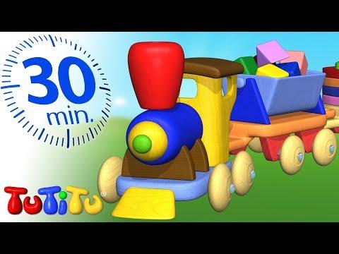TuTiTu Compilacion   Tren de madera   Juguetes para niños pequeños   30 minutos Especial