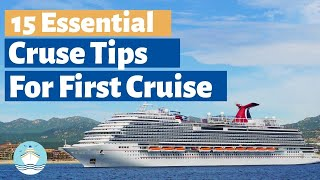 15 CRUISE TIPS You Need to Know Before Your First Cruise in 2020!