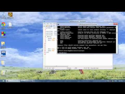 32bit Assembly Tutorial 1 – Setting Everything Up