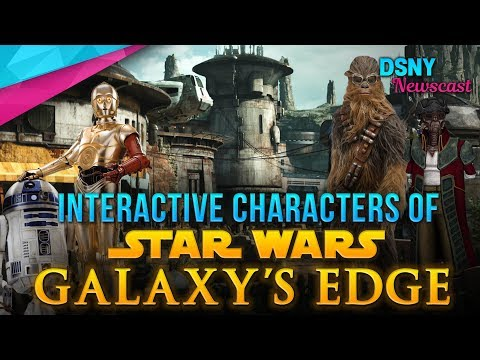 STAR WARS LAND's Characters To Expect at Disneyland & Walt Disney World - Disney News - 9/13/18