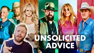 Giving Country Stars Advice They Didnt Ask For