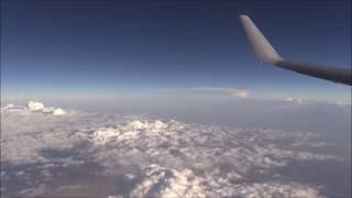 Southwest Airline Flght 1498 Boeing 737-700  landing at Los Angeles International Airport