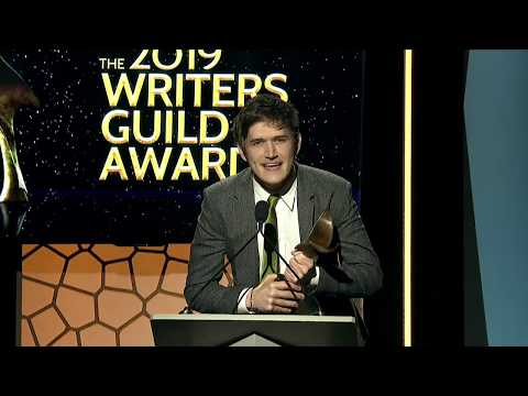 Bo Burnham's acceptance speech after winning the Writers Guild Award for Original Screenplay