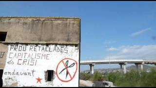 preview picture of video 'Endavant: mural retallades socials - Castelló de la Plana'