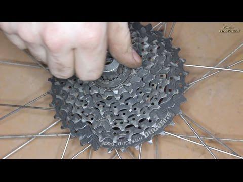 Горный велосипед - Ремонт. разборка. сборка колеса. регулировка спиц.