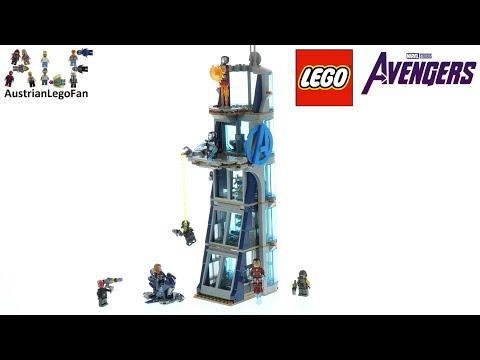 Vidéo LEGO Marvel 76166 : La tour de combat des Avengers