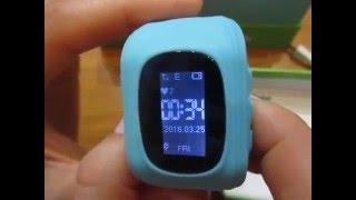 Детские Часы Телефон  с GPS. ( Настройка, функции, работа)