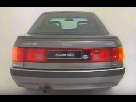 The new Audi 90 - Typ89 B3 Official promotional video