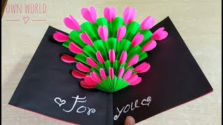 Easy ! Beautiful Handmade Birthday Card Idea | DIY Birthday Card!