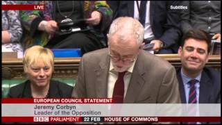 Tory Mp Heckles Jeremy Corbyn: 'who Are You?'