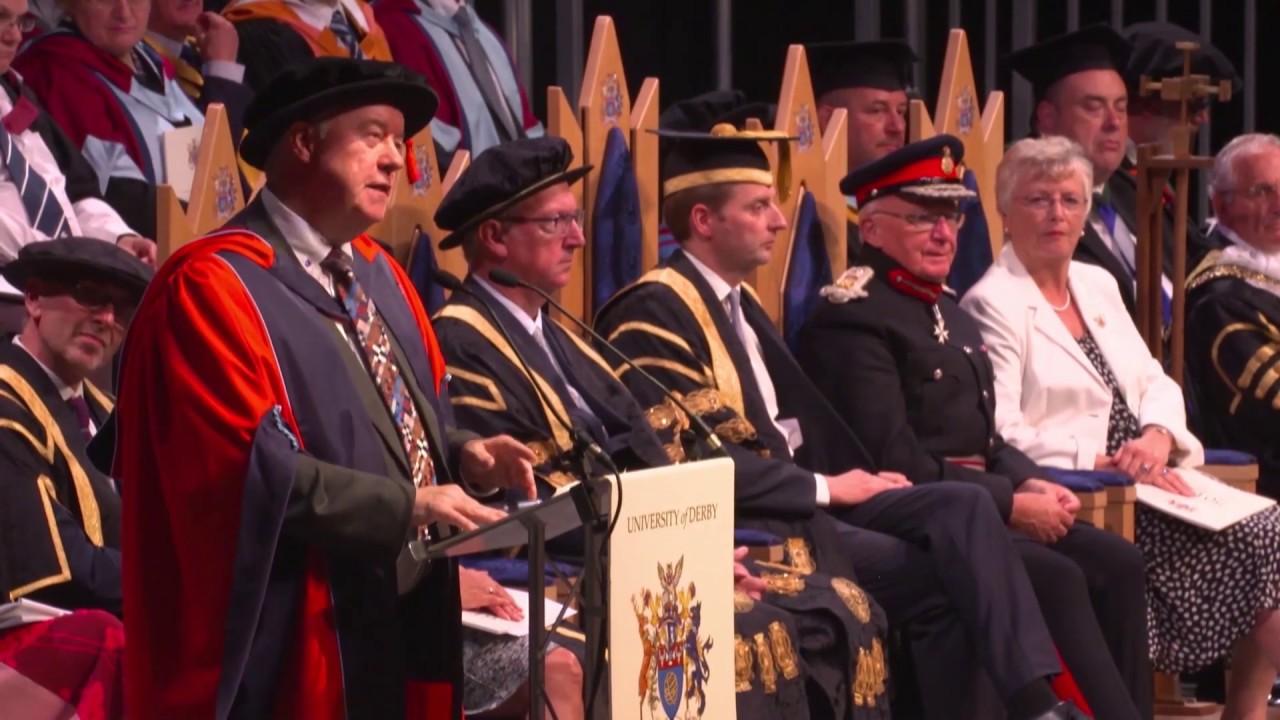 Derby Graduation - July 2019 - Honorand John Forkin
