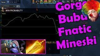 Gorgc asking Bububu out and casting Fnatic vs Mineski