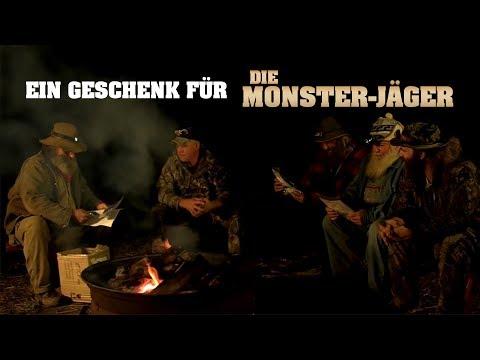 Ein Geschenk für die Monster-Jäger