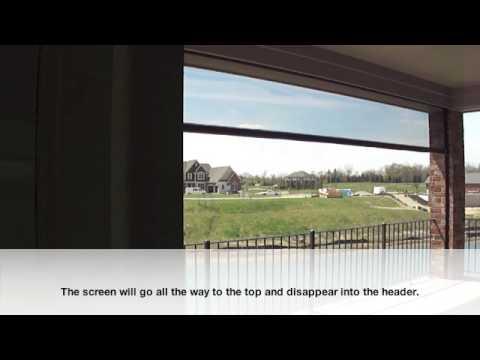DuraScreens Retractable Screens Interior