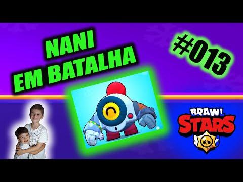 # 013 Leo e Lipe Games Brawl Stars  NANI Batalha   NANI IN BATTLE