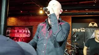"""7-20-2018 Armored Saint """"Dropping Like Flies"""" @The Shelter (Detroit show) live."""
