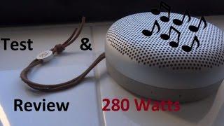 B&O Beoplay A1 Bluetooth Lautsprecher Review 280 Watt Bang&Olufsen