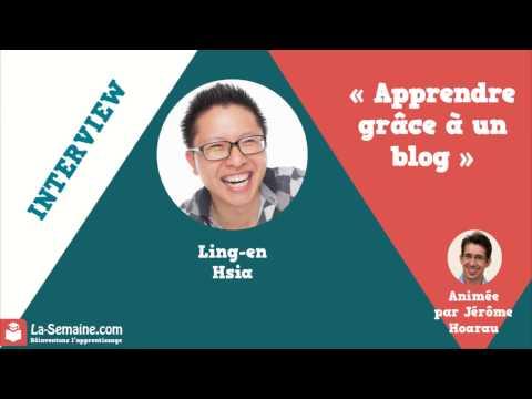 Apprendre grâce à un blog avec Ling-en Hsia