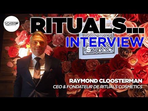 Raymond Cloosterman, CEO & Fondateur de Rituals Cosmetics