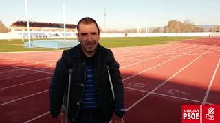 Martínez Tajuelo subraya la apuesta socialista por la promoción de la práctica deportiva y la mejora