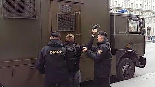 26 марта люди снова собрались в центре Минска