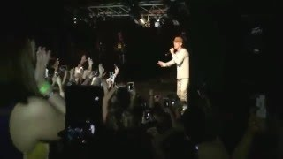 AARON CARTER KICKS FANS OUT OF SHOW!! THE WILLOW NEW ORLEANS 1/30/16
