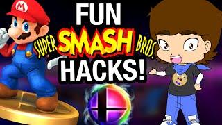 FUN Super Smash Bros. HACKS and Fan Games! - ConnerTheWaffle - dooclip.me