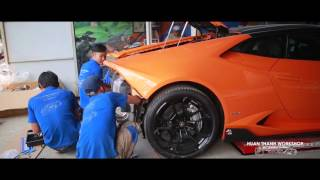LAMBORGHINI HURACAN - CAPRISTO EXHAUST - Tuning By HUAN THANH WORKSHOP