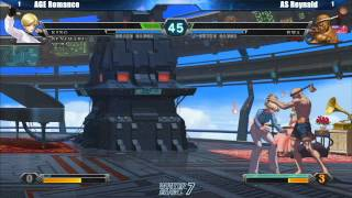 King of Fighters XIII Grand Finals AGE Romance vs AS Reynald - Winter Brawl 7 Tournament