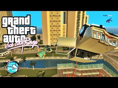 GTA: IV Vice City RAGE - Gameplay With Trainer - Bugs, Funny