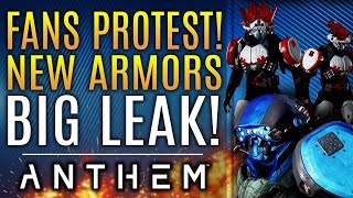 Anthem - Massive Fan Protest!  NEW ARMOR Leaks!  Brand New Updates!