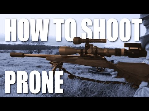 How to Shoot Prone