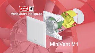 Ventilátor Helios MiniVent M1 - Untertitel in Deutsch.