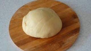 Идеальное бездрожжевое постное тесто - очень простой рецепт