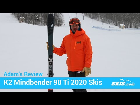Video: K2 Mindbender 90 TI Skis 2020 1 30