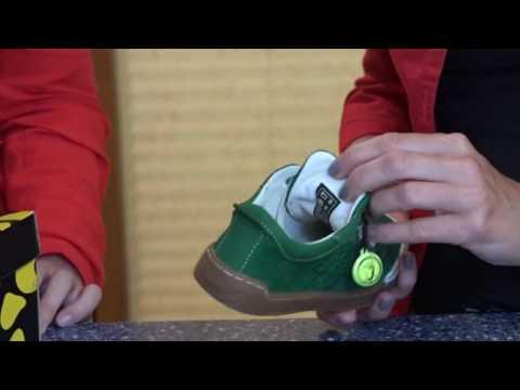 Kinderschuhcheck Lurchi Niels passende Kinderschuhe Sneaker Junge Test