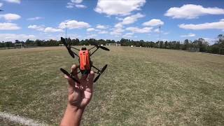 Wingsland X1 FPV Micro racing drone long range and wind Testing!!