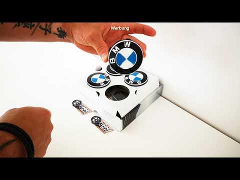 Tuning Spinner Caps Nabendeckel   freistehende Radnabenkappen BMW