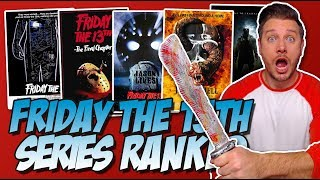 All 12 Friday the 13th Movies Ranked!