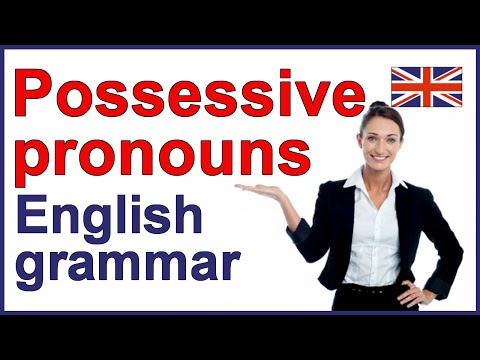 Download POSSESSIVE PRONOUNS | English grammar lesson and exercise Mp4 HD Video and MP3