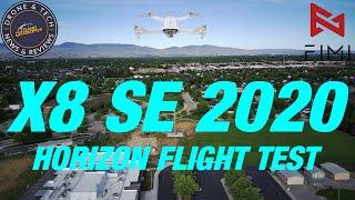 Fimi X8 SE 2020 - The Tilted Horizon Issue Appears To Be Solved - Flight Test