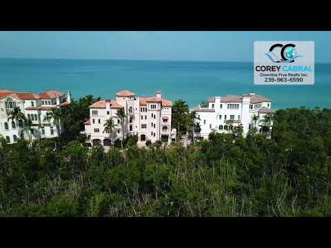 Bay Colony the Strand Naples Florida fly over video