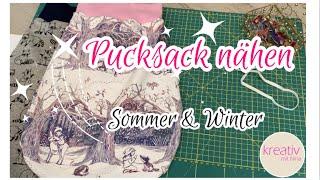 Baby Schlafsack Pucksack nähen ❤️ 2:1 Sommer oder Winter FLEXIBEL + kostenloses Schnittmuster