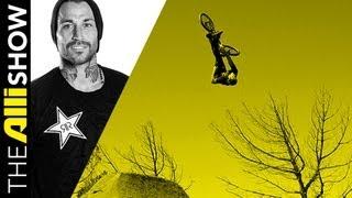 Alli Show - Cory Nastazio Shows Off His Backyard BMX Jumps