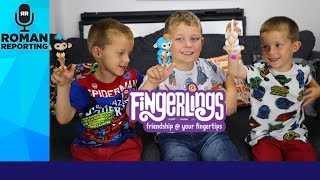 WowWee Fingerlings pet baby monkey toy review