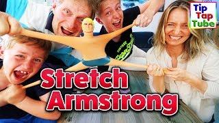 STRETCH ARMSTRONG - Der unzerstörbare Mann Spielzeug! TipTapTube