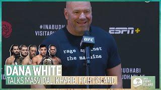 """Happy birthday Conor!"" Dana White on Masvidal PPV buys, reaching out to Khabib, Adesanya v Costa"
